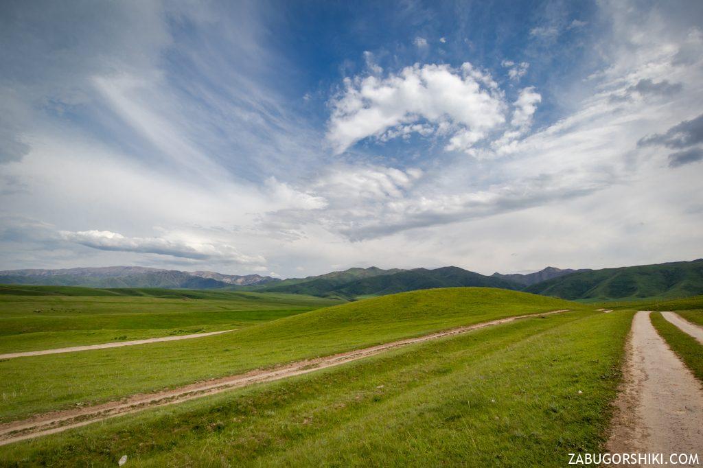 ущелье Кастек, Казахстан