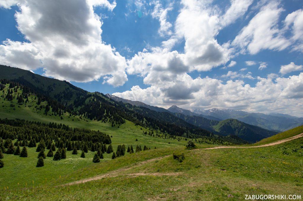 Маршрут на Кок-Жайляу с большого алматинского ущелья