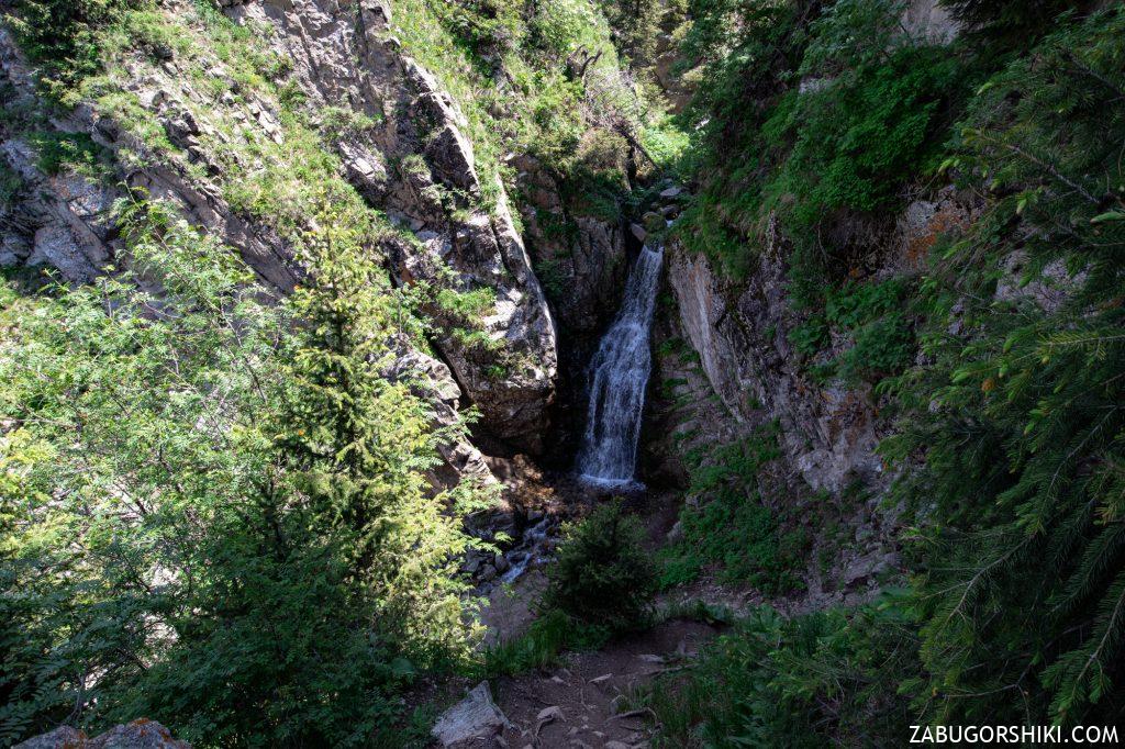 Водопад на Кок-Жайляу