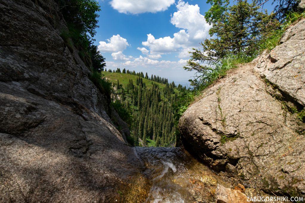 Водопад Кок-Жайляу