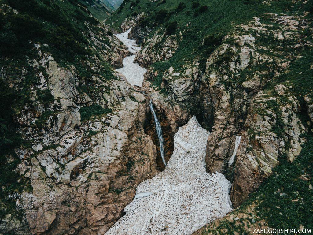 Верхний Бутаковский водопад с дрона