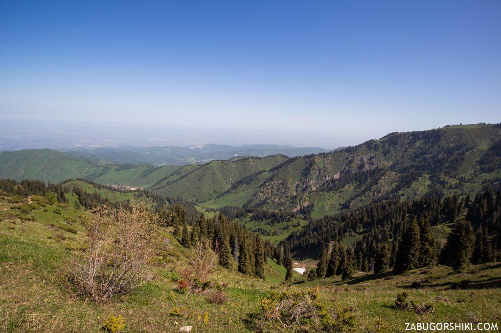 Вид на Бутаковское ущелье