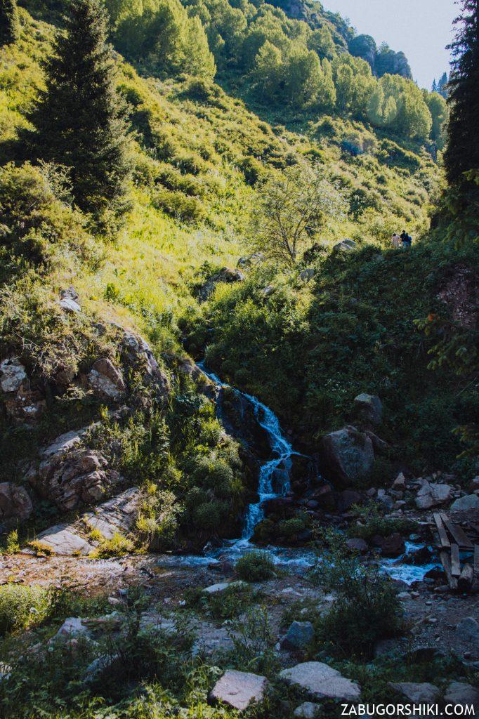 Приток реки Бутаковка