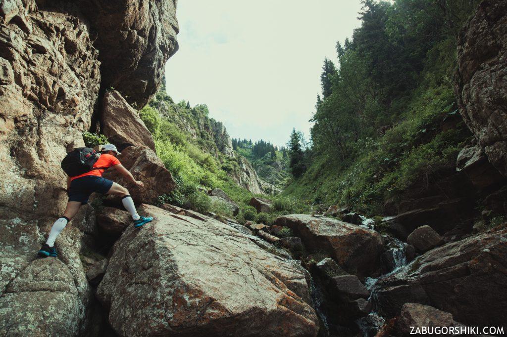Ренат на Бутаковском водопаде
