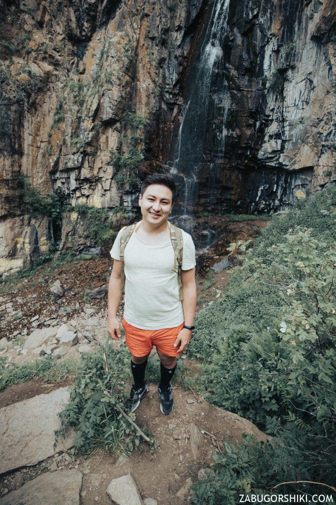Руслан на Бутаковском водопаде