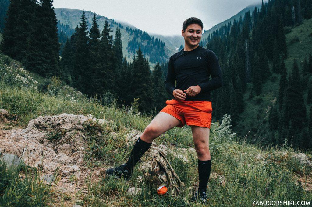 Руслан в Бутаковском ущелье